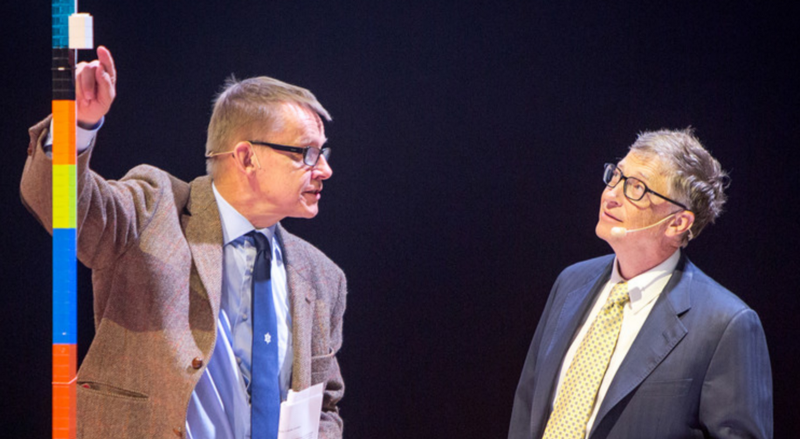Hans Rosling and Bill gates, Karolinska Institutet