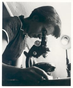 Rosalind Franklin in Birkbeck College