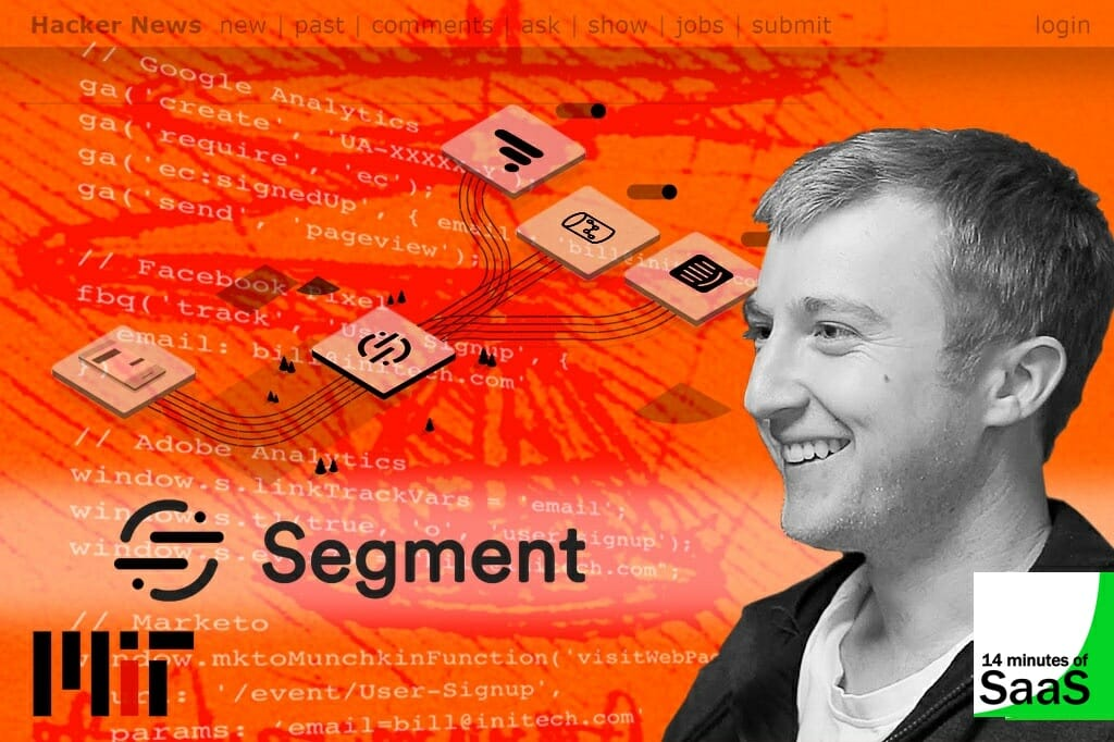 Peter Reinhardt, CEO and Co-founder of Segment talking with Stephen Cummins on the 14 Minutes of SaaS podcast