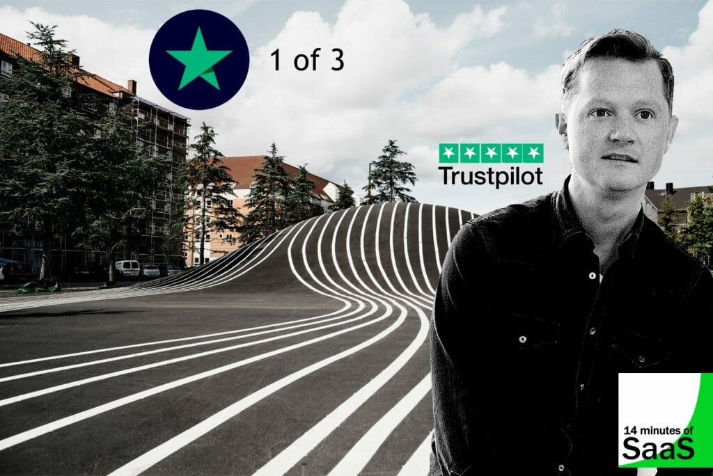 Episode 120 - Trustpilot CEO Founder Peter Holten Muhlmann – 1 of 3 – From the Basement - in conversation with AppSelekt CEO Stephen for 14 Minutes of SaaS